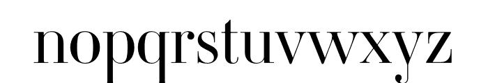 Ambroise Std Francois Light Font LOWERCASE