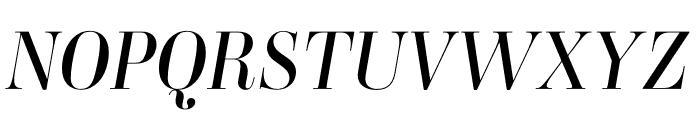 Ambroise Std Italic Font UPPERCASE