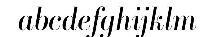 Ambroise Std Italic Font LOWERCASE