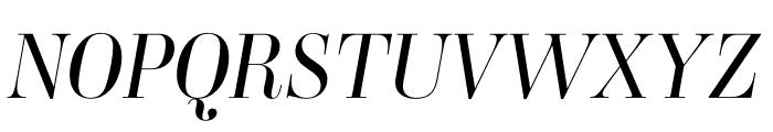 Ambroise Std Light Italic Font UPPERCASE