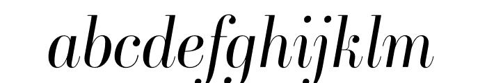 Ambroise Std Light Italic Font LOWERCASE