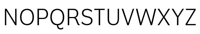 Americane Light Italic Font UPPERCASE