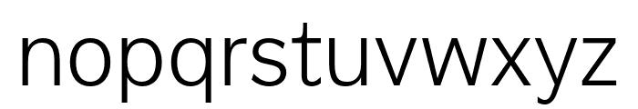Americane Light Italic Font LOWERCASE