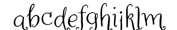 Amoretta Dark Regular Font LOWERCASE