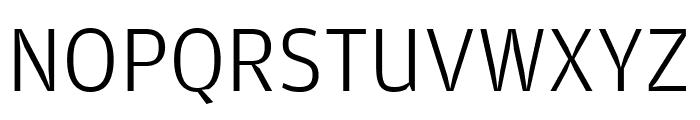 Amplitude Light Font UPPERCASE