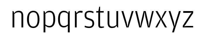 Amplitude Light Font LOWERCASE