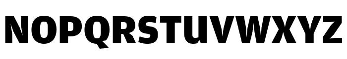 AmplitudeComp Black Font UPPERCASE