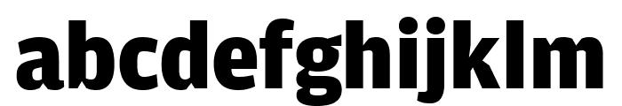 AmplitudeComp Black Font LOWERCASE