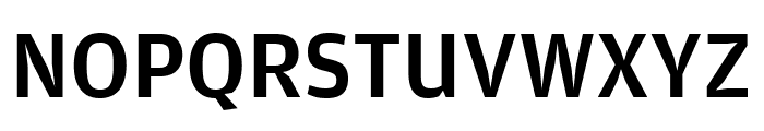 AmplitudeComp Medium Font UPPERCASE