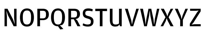 AmplitudeComp Regular Font UPPERCASE