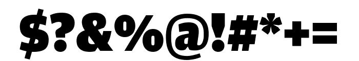AmplitudeComp Ultra Font OTHER CHARS