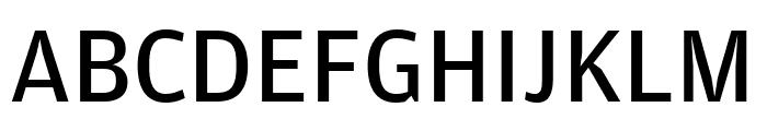 AmplitudeCond Regular Font UPPERCASE