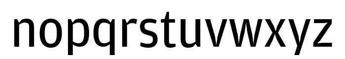 AmplitudeCond Regular Font LOWERCASE