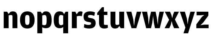 AmplitudeExtraComp Bold Font LOWERCASE