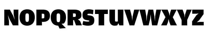 AmplitudeExtraComp Ultra Font UPPERCASE