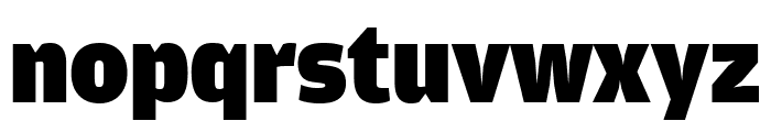 AmplitudeExtraComp Ultra Font LOWERCASE