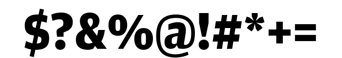 AmplitudeWide Bold Font OTHER CHARS