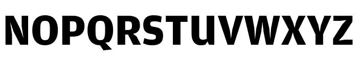 AmplitudeWide Bold Font UPPERCASE
