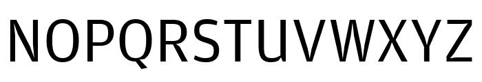 AmplitudeWide Book Font UPPERCASE