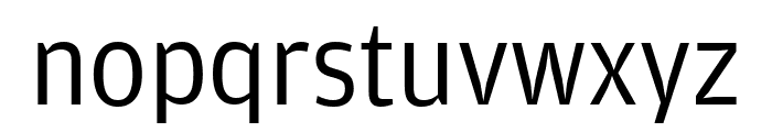 AmplitudeWide Book Font LOWERCASE