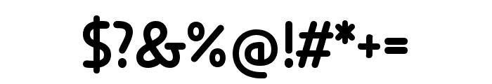 Anca  Medium Font OTHER CHARS