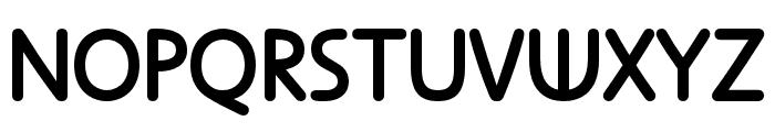 Anca  Medium Font UPPERCASE