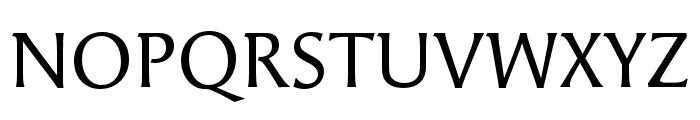Angie Pro Regular Font UPPERCASE
