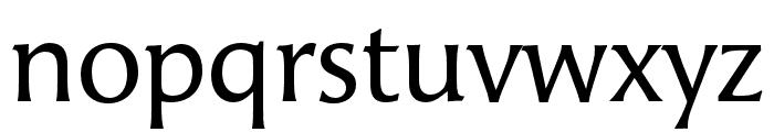 Angie Pro Regular Font LOWERCASE