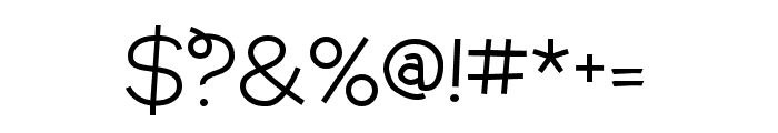 Annabelle Regular Font OTHER CHARS