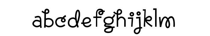 Annabelle Regular Font LOWERCASE