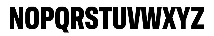 Antarctican Mono Bold Font UPPERCASE