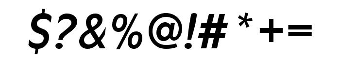 Antique Olive Regular Italic Font OTHER CHARS