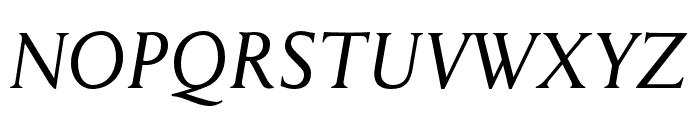 Anziano Pro Italic Font UPPERCASE