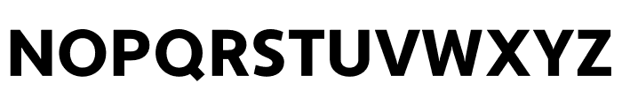 Apertura Black Font UPPERCASE