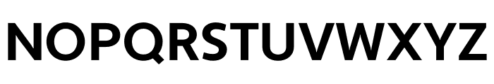 Apertura Bold Condensed Font UPPERCASE