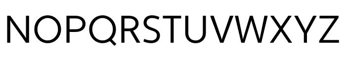 Apertura Condensed Font UPPERCASE