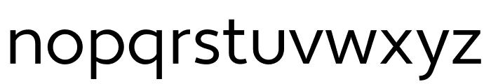 Apertura Condensed Font LOWERCASE