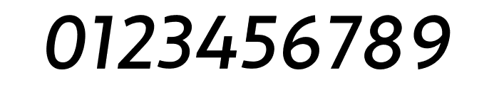 Apertura Medium Obliq Font OTHER CHARS