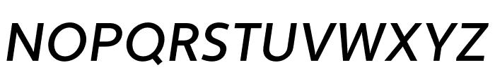 Apertura Medium Obliq Font UPPERCASE