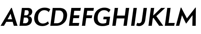 Apres Bold Italic Font UPPERCASE