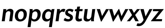 Apres Bold Italic Font LOWERCASE