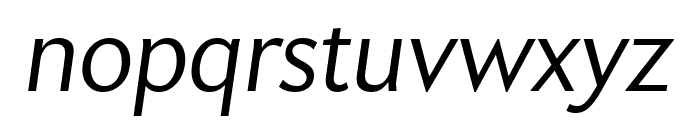 Apres Extra Condensed Light Italic Font LOWERCASE