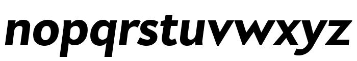 Apres Heavy Italic Font LOWERCASE