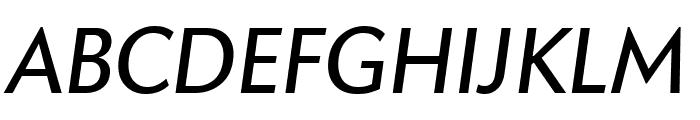 Apres Italic Font UPPERCASE