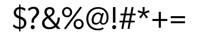 Apres Light Font OTHER CHARS