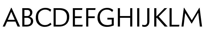 Apres Light Font UPPERCASE