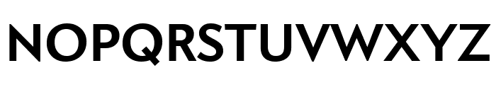 Apres Narrow Bold Font UPPERCASE