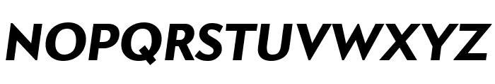 Apres Narrow Heavy Italic Font UPPERCASE