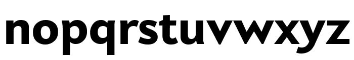 Apres Narrow Heavy Font LOWERCASE