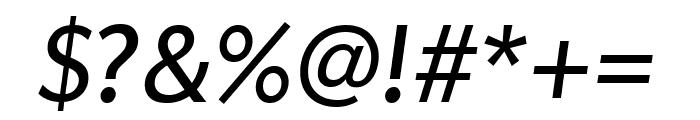 Apres Narrow Italic Font OTHER CHARS